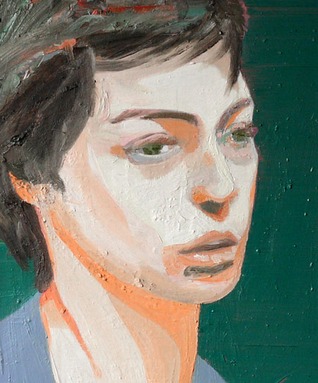Substance, 2010 - 50 x 42 cm, oil on cotton - private collection, Berlin